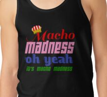 Macho Madness (Mario Colors Edition!) Tank Top
