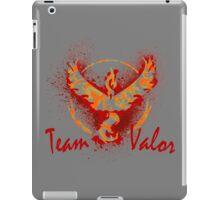 Go! Team Valor (Text)! iPad Case/Skin