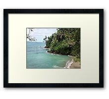 Cathedral Point Trail Framed Print