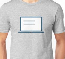 Laptop Unisex T-Shirt