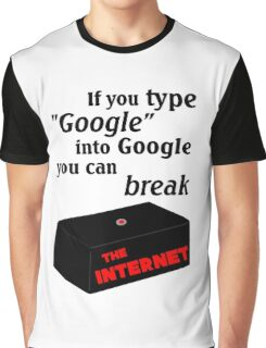 IT Crowd - Google The Internet Graphic T-Shirt