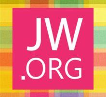JW.ORG (Colorful pattern) Sticker