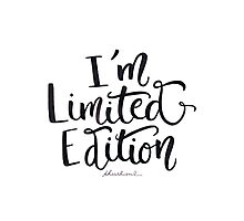 I'm Not Weird —I'm Limited Edition Photographic Print