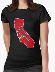California - Cards Team Womens Fitted T-Shirt