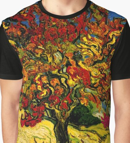 Van Gogh Mulberry Tree Graphic T-Shirt