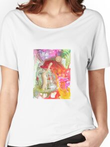 Water and Light Women's Relaxed Fit T-Shirt