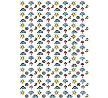Weather pattern cute Photographic Print