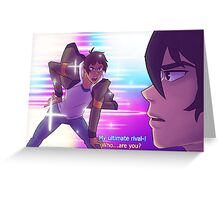 Klance la Klance Greeting Card