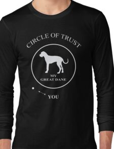 Funny Great Dane Dog Long Sleeve T-Shirt