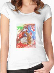 Water Spirit Women's Fitted Scoop T-Shirt