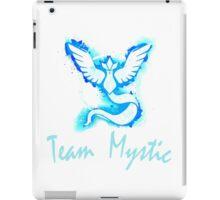 Go! Team Mystic! (Text) iPad Case/Skin