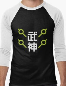 Overwatch - Genji - God of War Men's Baseball ¾ T-Shirt