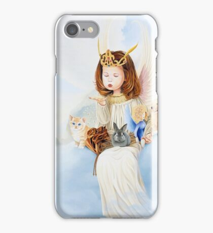 wishes from heaven iPhone Case/Skin