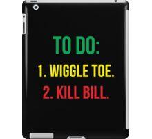 Black Mamba's To Do [GYR] iPad Case/Skin