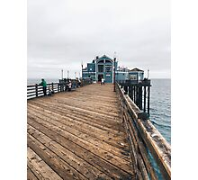 West Coast Pier Photographic Print