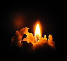 A silent candle light by Irina777