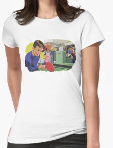 Ping Pong Championship Womens Fitted T-Shirt