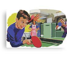 Ping Pong Championship Canvas Print
