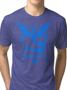 Pokemon Go Team Mystic NI Tri-blend T-Shirt