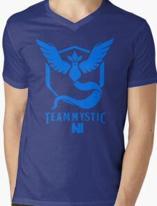 Pokemon Go Team Mystic NI Mens V-Neck T-Shirt