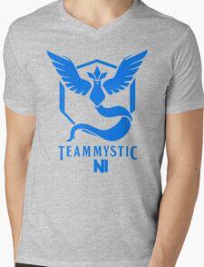 Pokemon Go Team Mystic NI Mens V-Neck T-Shirt