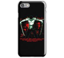 Roronoa Zoro The Fierce Animal (Black Version) iPhone Case/Skin