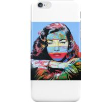 Being Bacall iPhone Case/Skin
