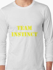 Pokemon Go -Team Instinct - Yellow Long Sleeve T-Shirt