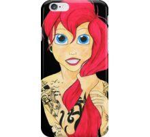 Tattooed Redhead iPhone Case/Skin