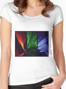 Red | Green | Blue Women's Fitted Scoop T-Shirt
