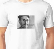 George Orwell on Socialism and Christianity Unisex T-Shirt