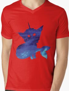 WATER BLAST Mens V-Neck T-Shirt
