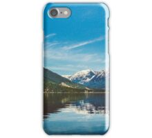 Pacific Northwest Reflection iPhone Case/Skin