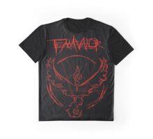 Team Valor Pentagram Design Graphic T-Shirt