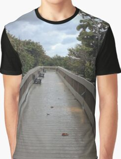 Boca Boardwalk Graphic T-Shirt