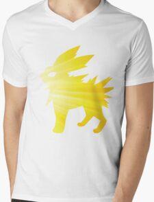 lightning bolt Mens V-Neck T-Shirt