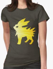 lightning bolt Womens Fitted T-Shirt