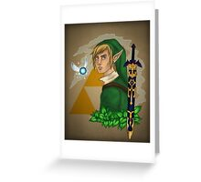 Link, the Hero of Time Greeting Card
