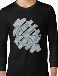 Ship Wheel  Long Sleeve T-Shirt