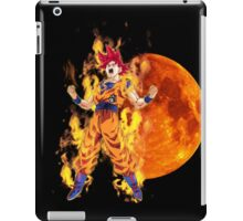Goku - Super Saiyan God iPad Case/Skin
