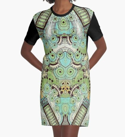 Belle Epoque Graphic T-Shirt Dress