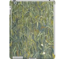 Vincent Van Gogh - Ears Of Wheat. Field landscape: field landscape, nature, village, garden, flowers, trees, sun, rustic, countryside, sky and clouds, summer iPad Case/Skin