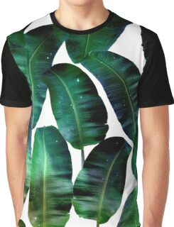 Cosmic Banana Leaves #redbubble #lifestyle Graphic T-Shirt