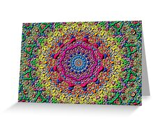abstract ethnic vector Greeting Card