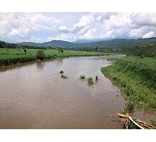 Tárcoles River, Costa Rica Photographic Print