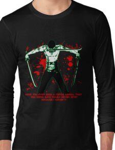 Roronoa Zoro The Fierce Animal (Black Version) Long Sleeve T-Shirt