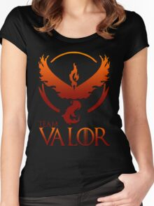 Team Valor V2 Women's Fitted Scoop T-Shirt
