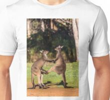 Fighting Kangaroos Unisex T-Shirt