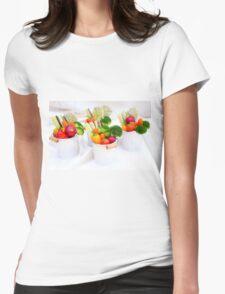 fresh Vegetable snacks Womens Fitted T-Shirt