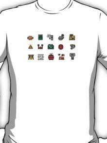 Monster Hunter Item Icons T-Shirt